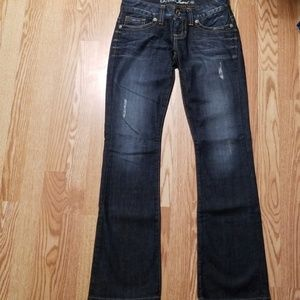 Guess skinny flare jeans